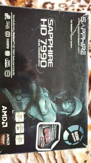 tarjeta grafica amd 7990 dual gpu