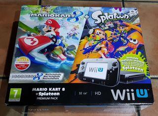 WiiU con juegos