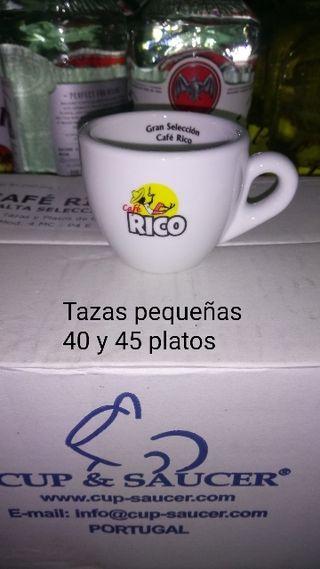 Tazas y platos marca RICO