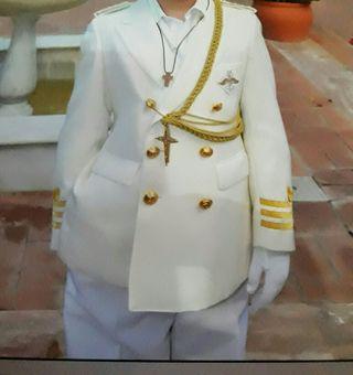 traje de comunion de niño