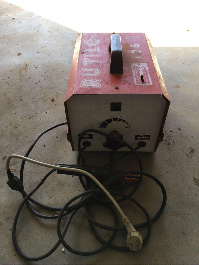 Maquina de soldar electrica