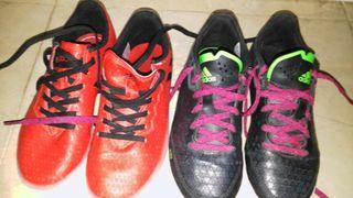 zapatillas futsal niño semi nuevas