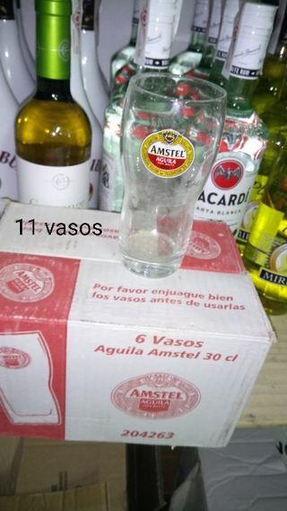 Vasos Amstel aguila 30cl