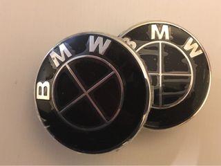 set 4 Tapabujes BMW 68mm-3 Modelos