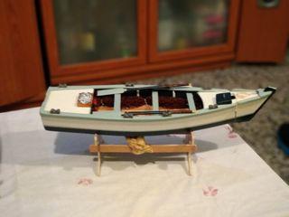 Barco chalana artesanal