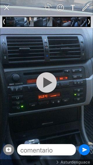 Radio business bmw e46