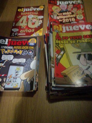 106 Revistas El Jueves Nº1981-2087