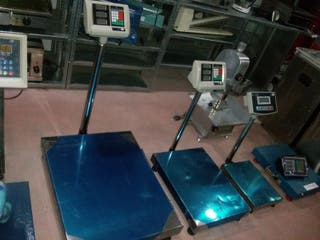 balanzas basculas plataformas nuevas desde 100kg