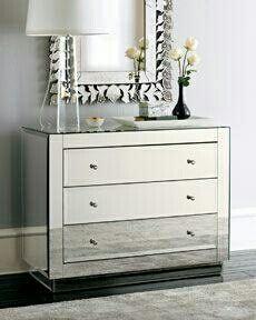 Mueble cajonera de espejos