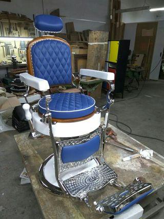 Antiguo sillon de barbero Jaso N°1 de 1930