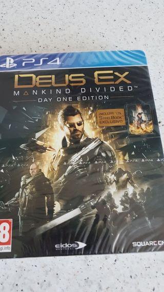 PRECINTADO! Deus Ex edicion day one PS4