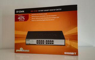 Switch D-Link DGS-16D