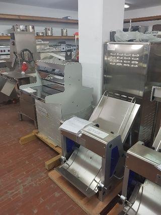 cortadora de pan industrial de suelo nuevas