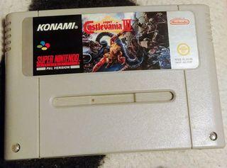 Castelvania IV Super Nintendo Pal esp ( Original )