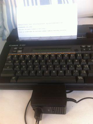 CANON S-90 Maquina de escribir Electronica