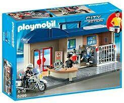 Playmobil Comisaria Maletin