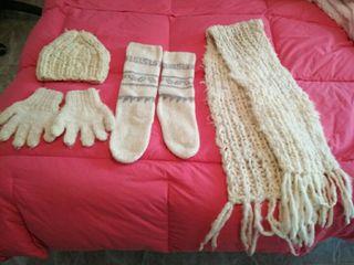 conjunto d lana chilena