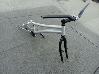 bicicleta de trial......