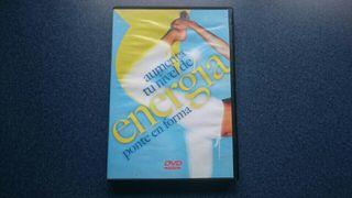 DVD Aumenta Tu Nivel De Energia Ponte En Forma
