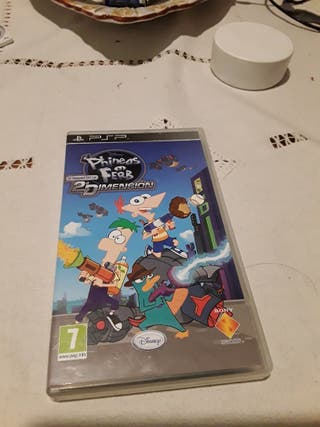juego psp phineas y ferb