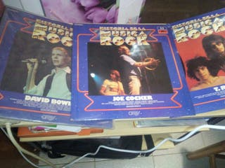 coleccion de la historia de lausica rock105disco