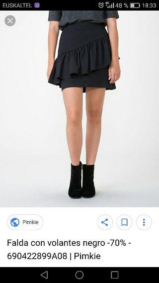 falda volante