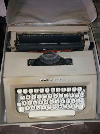 Maquina escribir Olivetti 25