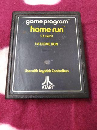 Juego Atari VCS 2600 HOME RUN original.