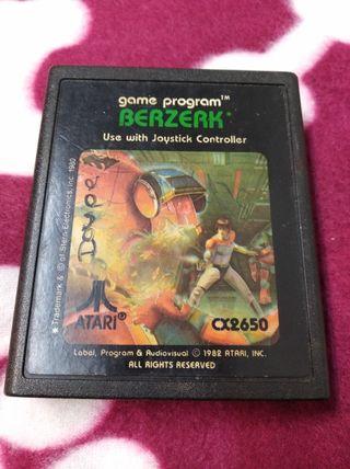 Juego Atari BERZERK envío gratuito.