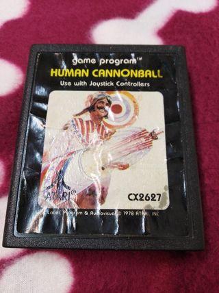 Juego Atari VCS 2600 HUMAN CANNONBALL