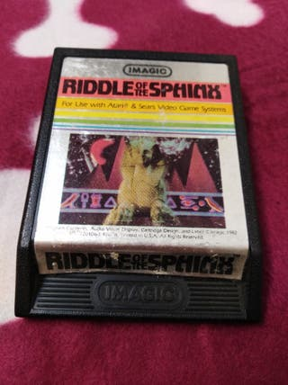 Juego Atari VCS 2600 RIDDLE OF THE SPHINX