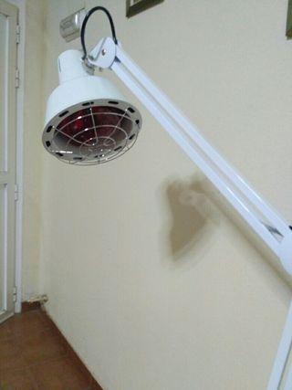 lampara infrarrojos