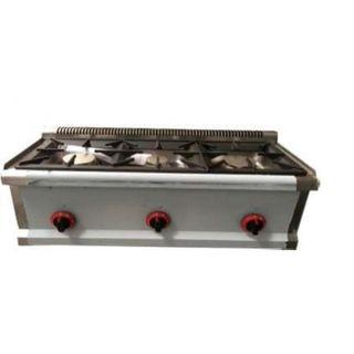 cocina sobremesa a gas 3 fuegos