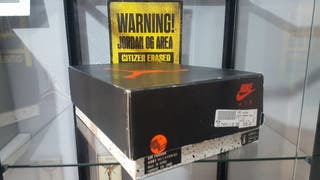 Jordan 6 Carmine solo Box original de 1991 talla 8