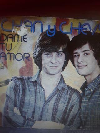 disco vinilo: Chan y Chevy