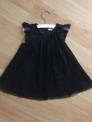 Vestido fiesta niña 2 años