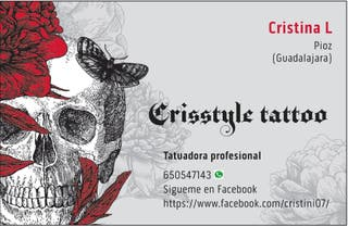 Tatuadora profesional