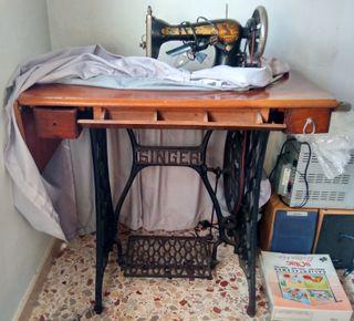 Maquinas coser antiguas