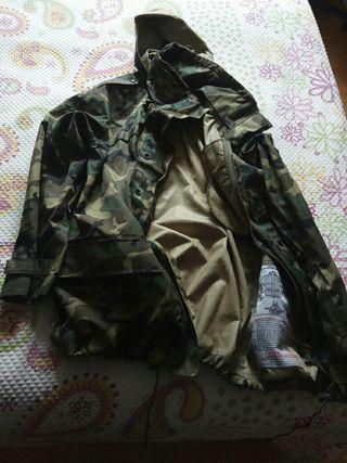 chaquetón militar ideal para la caza