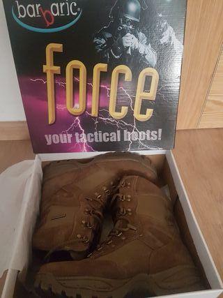 "Botas BARBARIC FORCE 9"" Waterproof TALLA 44"