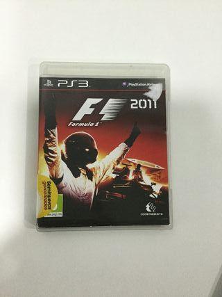F1 2011 Ps3