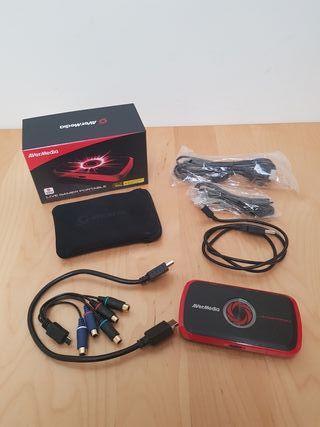 Capturadora AverMedia Live Game Portable