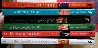 Libros Gossip Girl
