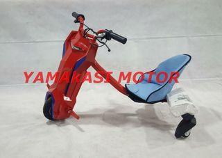 Nuevo patinete electrico- derrape-rojo