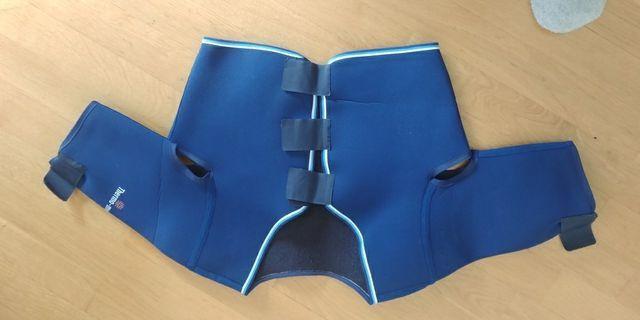 Soporte de hombro bilateral thermo-med talla m