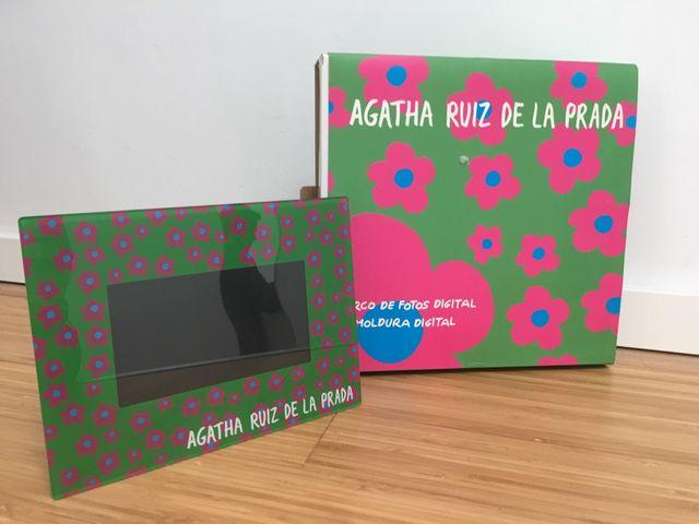 Marco de fotos digital Agatha Ruiz de la Prada de segunda mano por ...