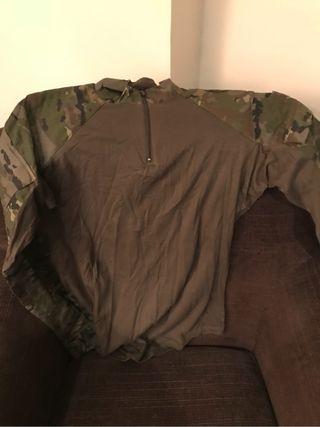 Camisetatactica camuflaje 2 unidades