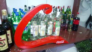 Decoración y publicidad de la marca Coca-Cola