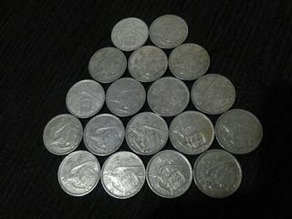Monedas de 5 pts