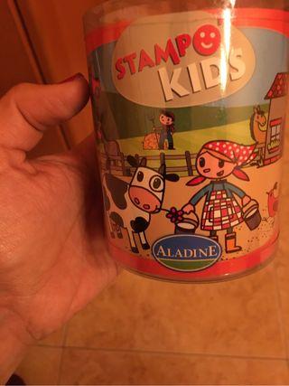 Stamp kids granja